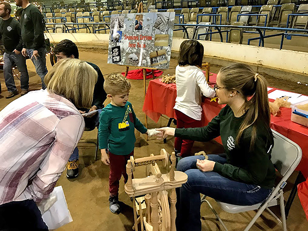 MTSU Christmas Village helps children learn about agriculture
