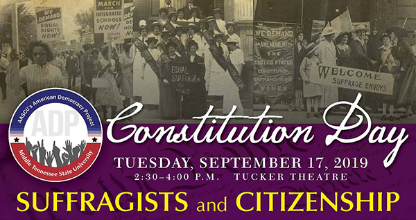 Celebrate Constitution Day Sept. 17 with MTSU