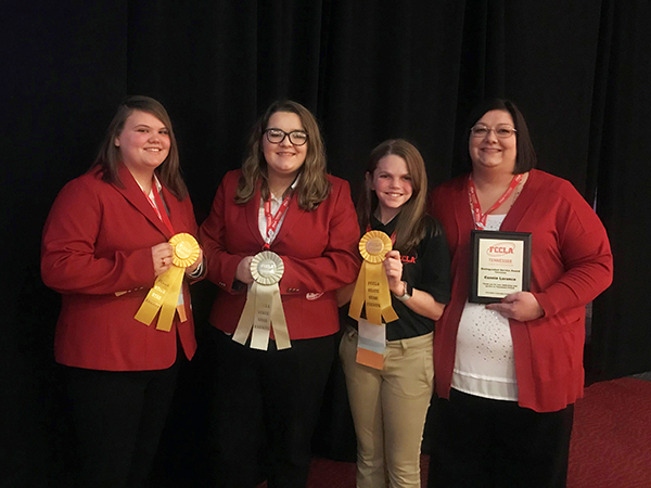 Cannon County FCCLA attends State Leadership meeting
