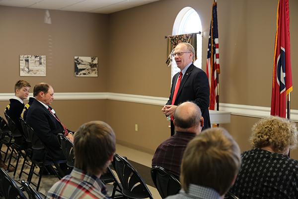 Cannon County Farm Bureau talks issues with Congressman John Rose