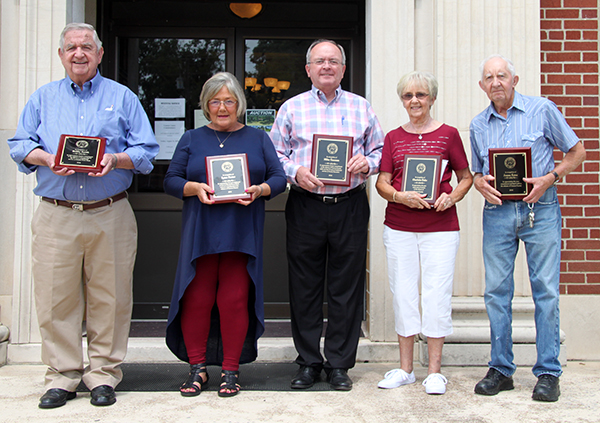 Honored for their service to Cannon County