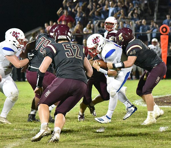 Lions notch historic win on way to region opener
