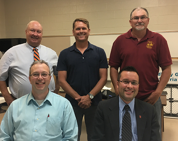 School board elects new officers