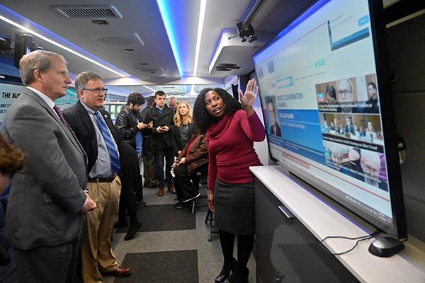C-SPAN bus provides 'eye-opening' experience at MTSU